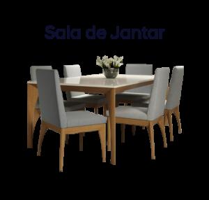 Comprar Sala de Jantar é na Frans Móveis e Decorações